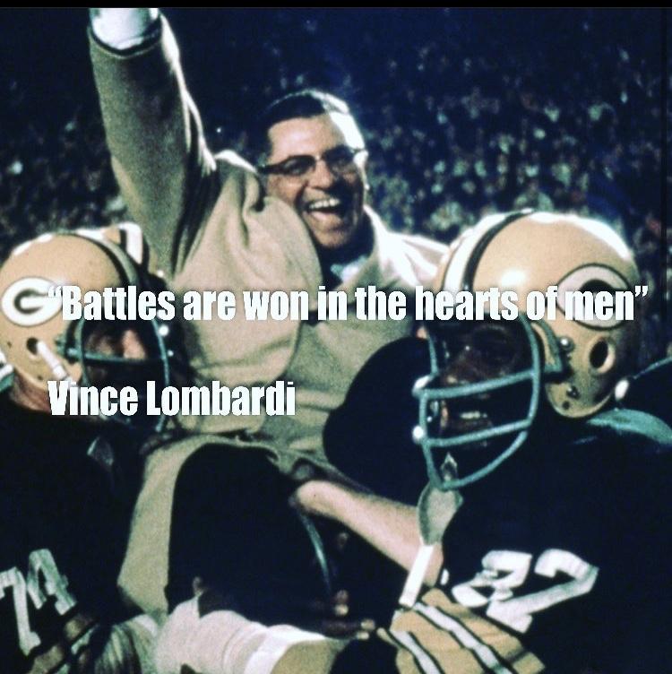 Vince Lombardi: Not of granite